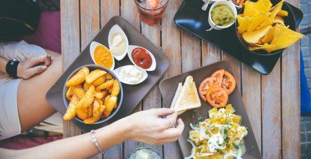 idees de trempettes frites nachos